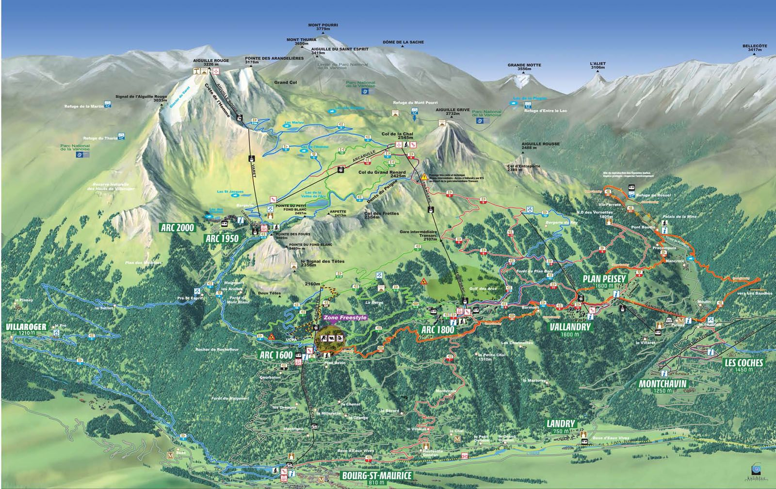 birds eye view map mountain Google Search maps Pinterest