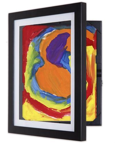 8 5x11 Lil Davinci Art Cabinet With Images Frame Kids Art Da Vinci Art Artwork