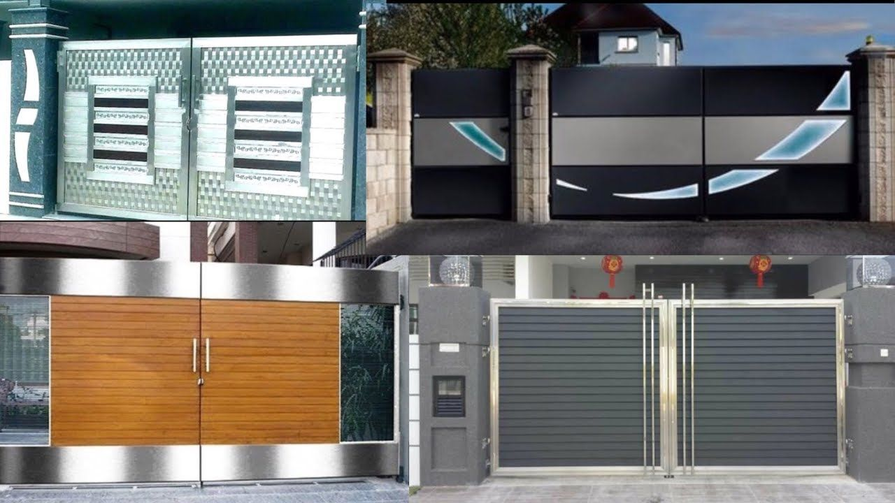 Top 100 Home Main Gate Design in Latest Models 2020 | Home ...