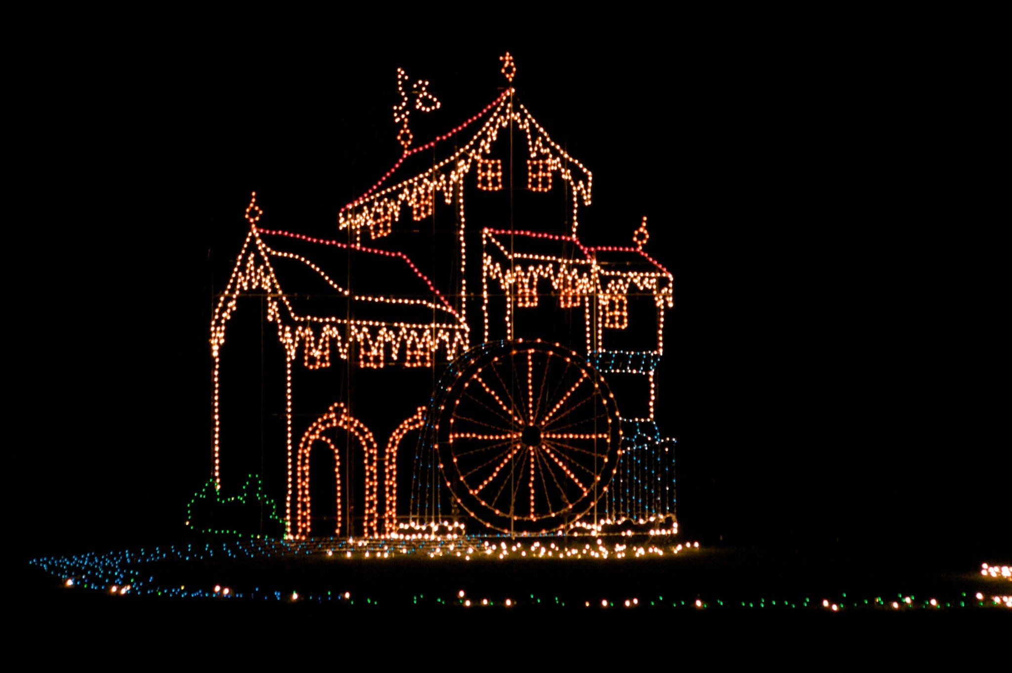 Tanglewood Festival of Lights in Clemmons, North Carolina