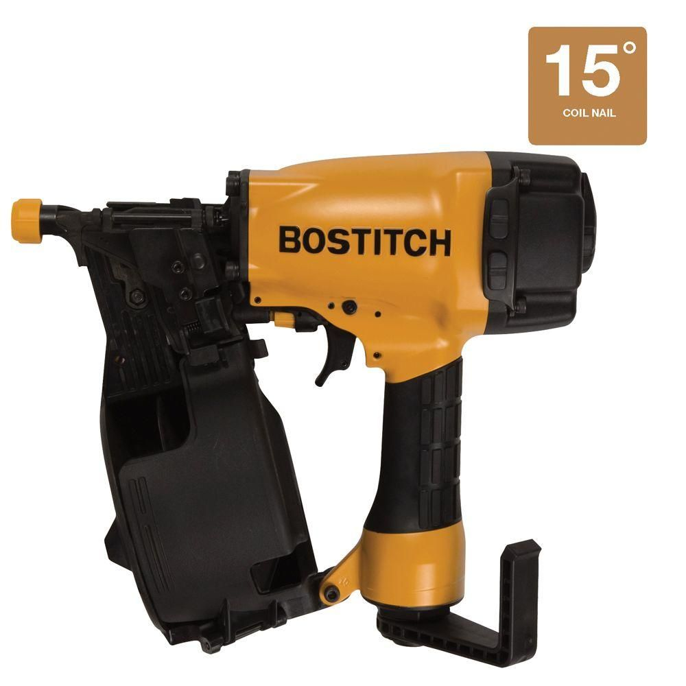 Best Bostitch 2 1 2 In 15 Degree Coil Siding Nailer N66C 1 400 x 300