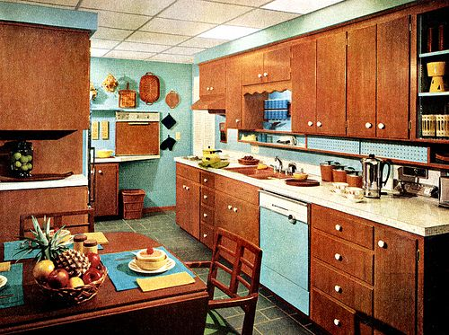 1960s Kitchens image result for 1960 kitchen cabinets | felicia's journey kitchen