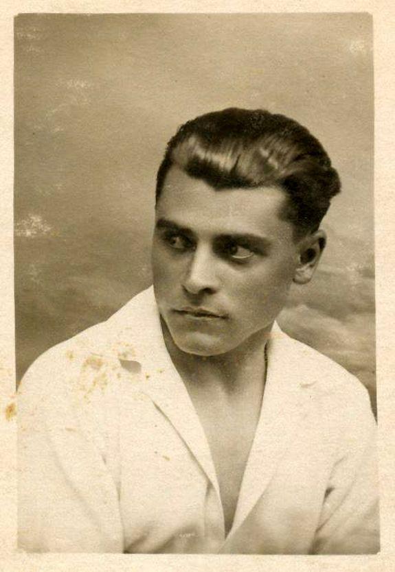 The Pensive Young Man Vintage Men Historical Men