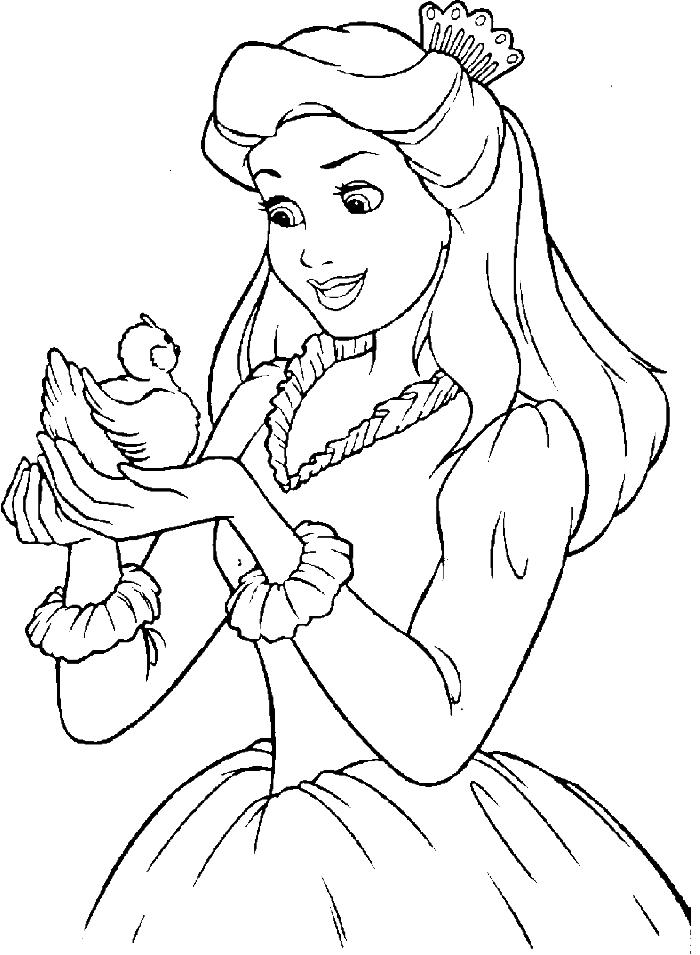 Image for Disney Princess Coloring Online | Creations ... | colouring pages online disney princess