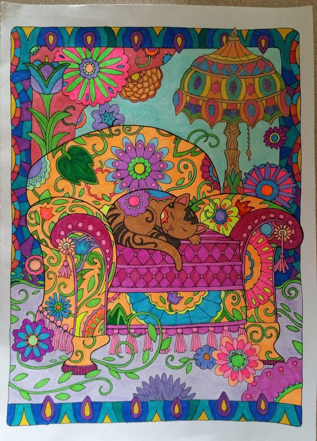 Creative Haven Creative Cats Coloring Book Creative Haven