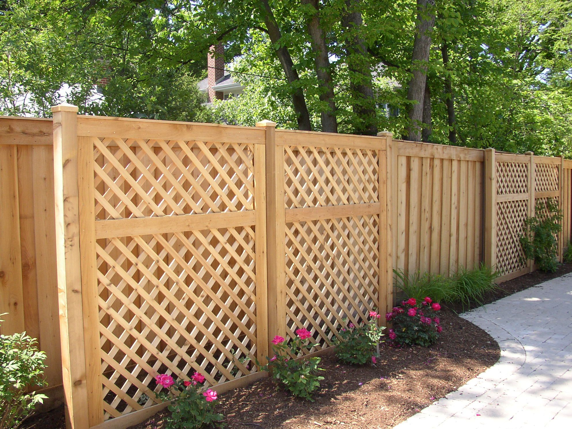 Rustic diamond fence for the home pinterest more for Rustic fence ideas