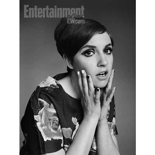 Beauty How-To: Lena Dunham's Twiggy-inspired hair and makeup -- EXCLUSIVE