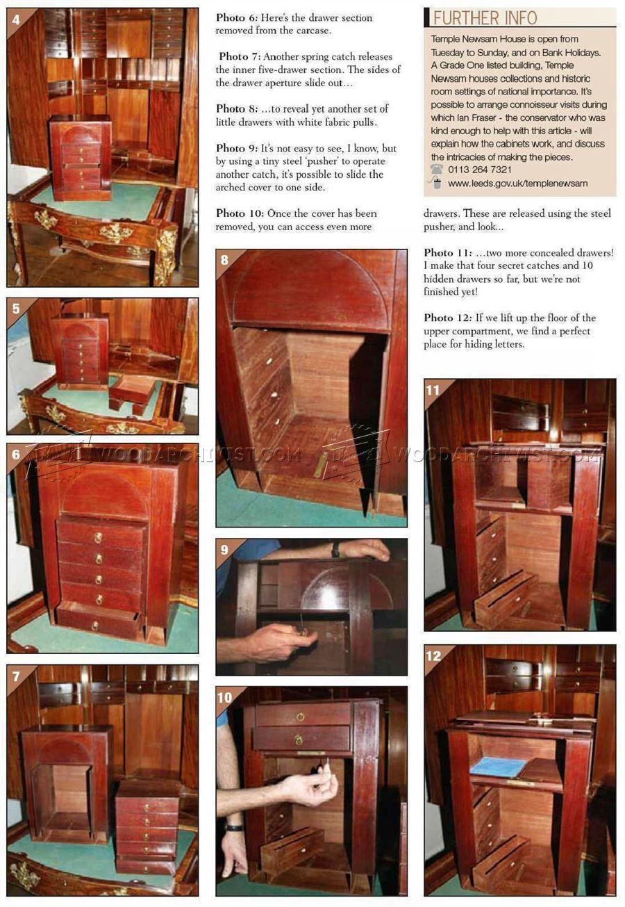Furniture Secret Compartments Furniture Plans Papa