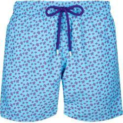 Photo of Men's Swimwear – Micro Ronde des Tortues Swimwear for Men – Swim Shorts – Moorea – Blue – Xxl – V
