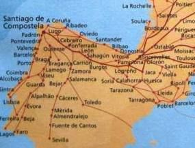 Camino De Santiago Way Of St James Located In Spain It Is A Month Ish Long Mecca That People Tr Camino De Santiago Santiago De Compostela Ruta De La Plata