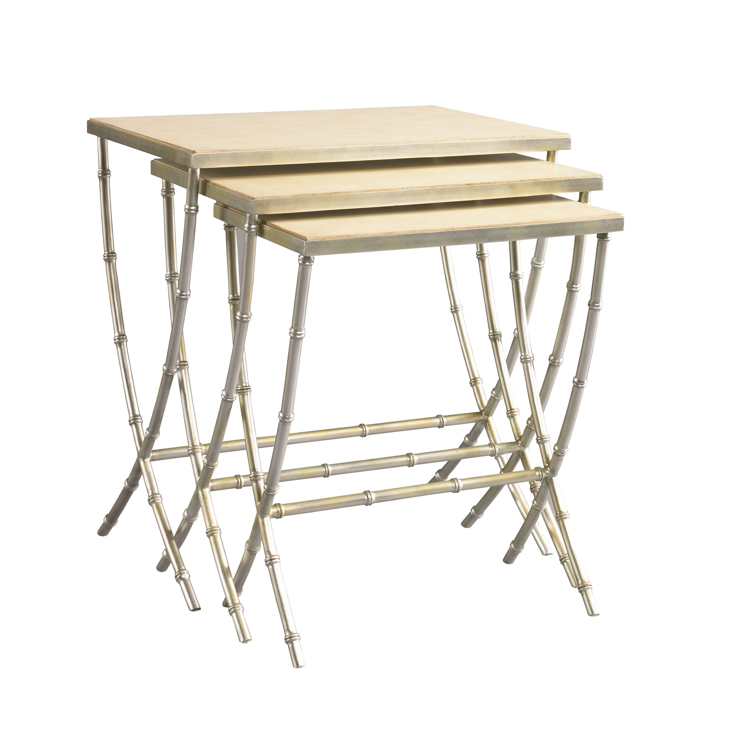 Lillian August Finch Bamboo Nesting Tables LA96323-01