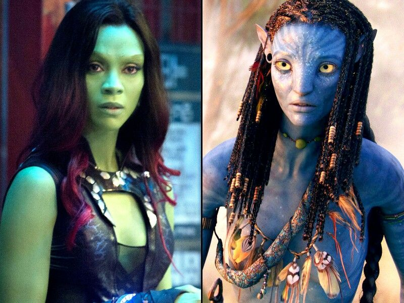 Avatar Guardians Of The Galaxy Zoe Saldana Zoe Saldana