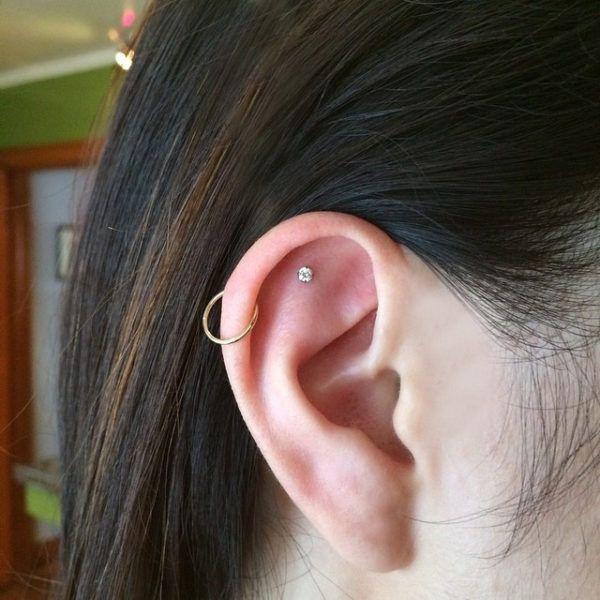 Evil Eye Stud Earrings Cool Ear Piercings Ear Piercing