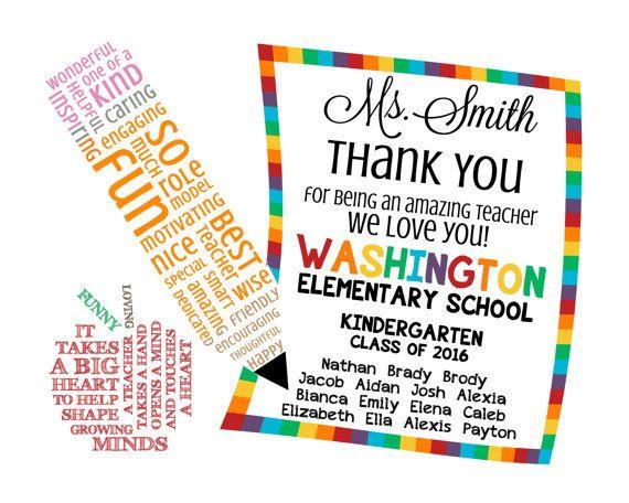 teacher appreciation note word art digital by morethanwordsabcs