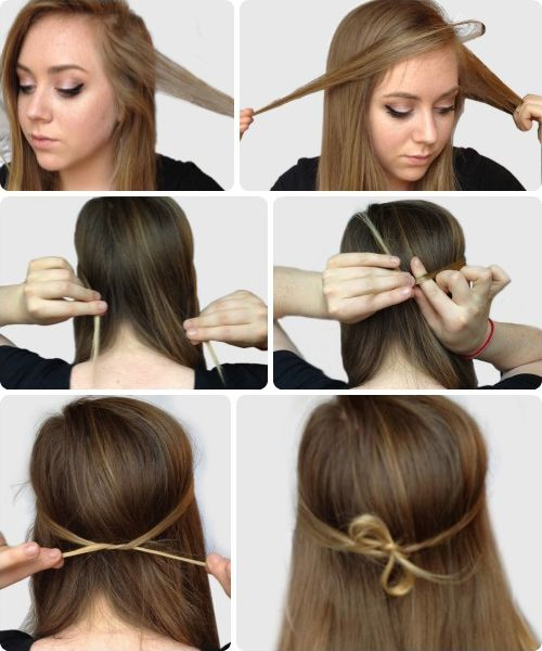 6 Super Easy Hairstyles For Finals Week Hair Makeup Easy