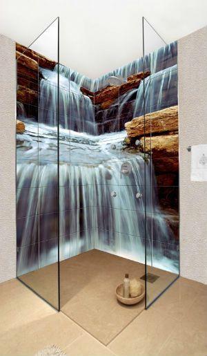 фотоплитка в душефотоплитка wwwpanorama-decoliru Панно для