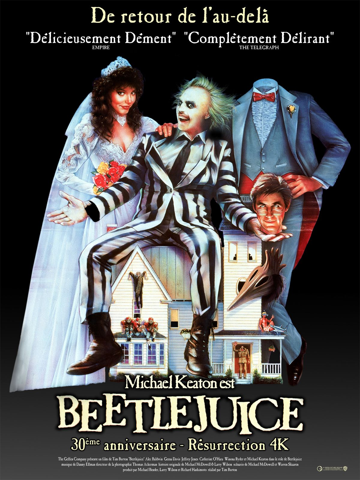 5892f72e221594 Beetlejuice - film 1988 - AlloCiné   Movies in 2019   Film, Movies ...
