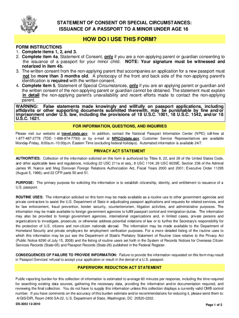 Best Passport Consent Forms Contemporary Office Resume Sample Form