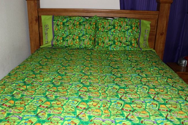 Teenage Mutant Ninja Turtle Queen Size Sheet Set Queen Size Sheets My First Apartment Crib Sheets