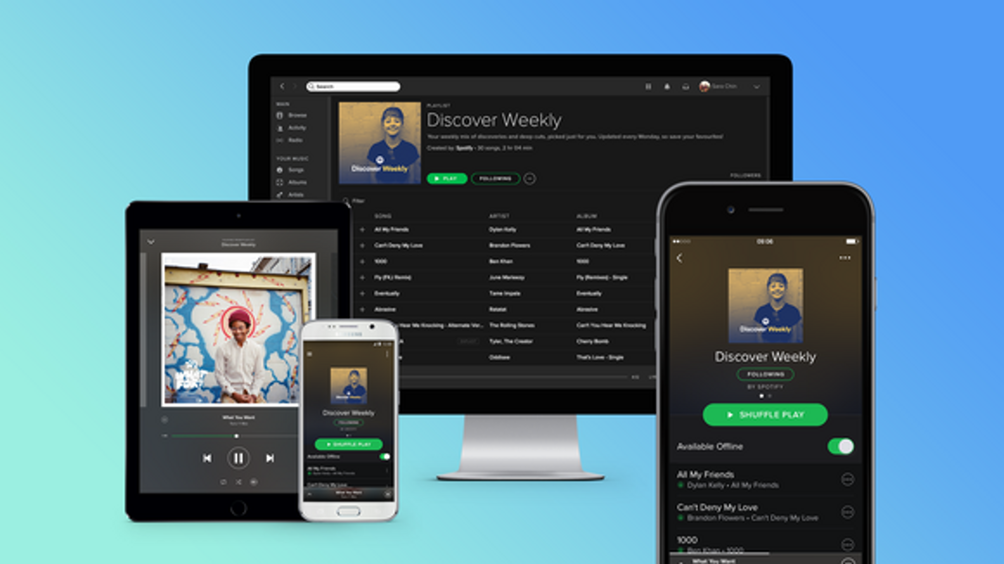 What you do on Spotify is public and can be used against