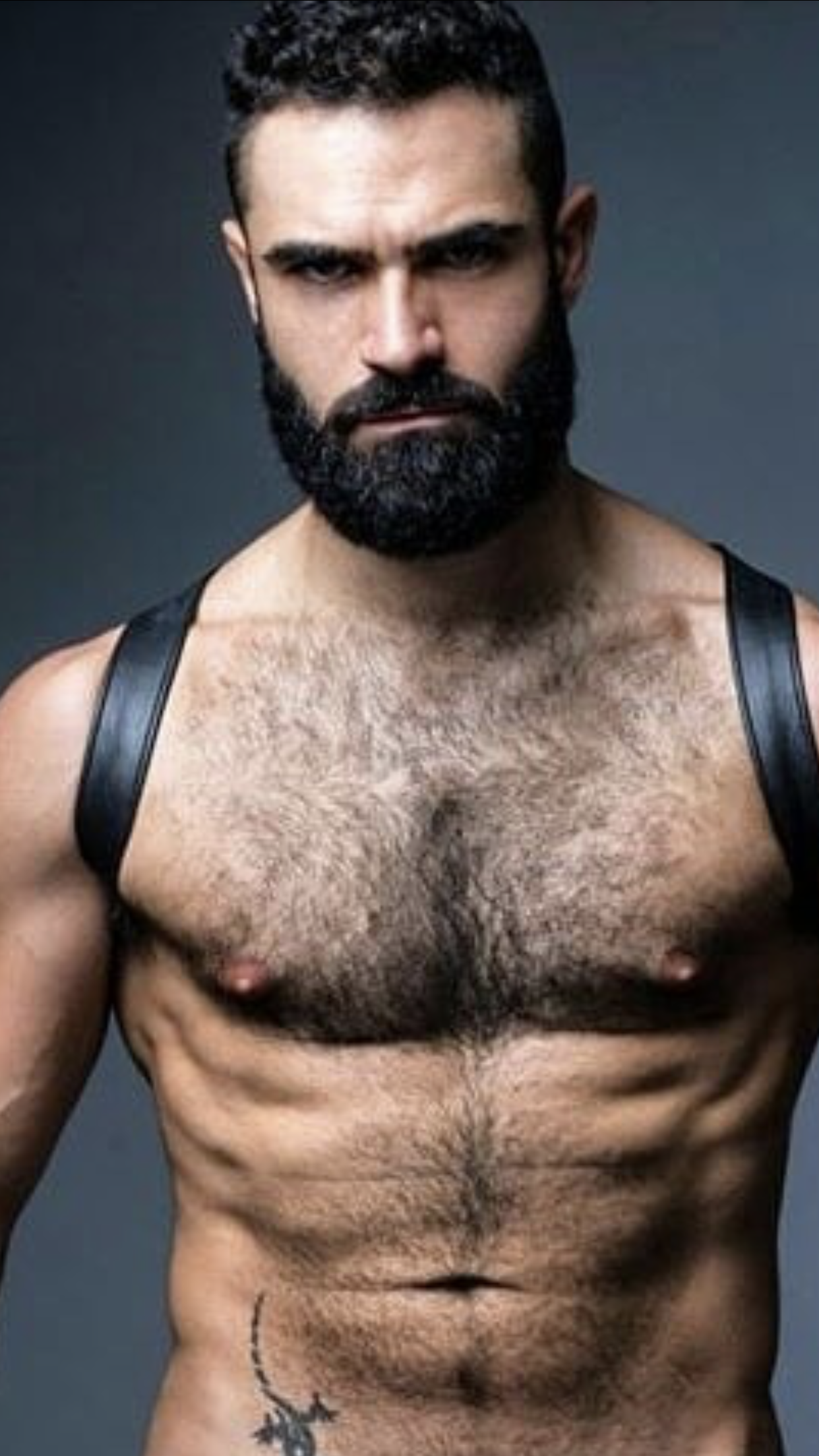 Hairy man images