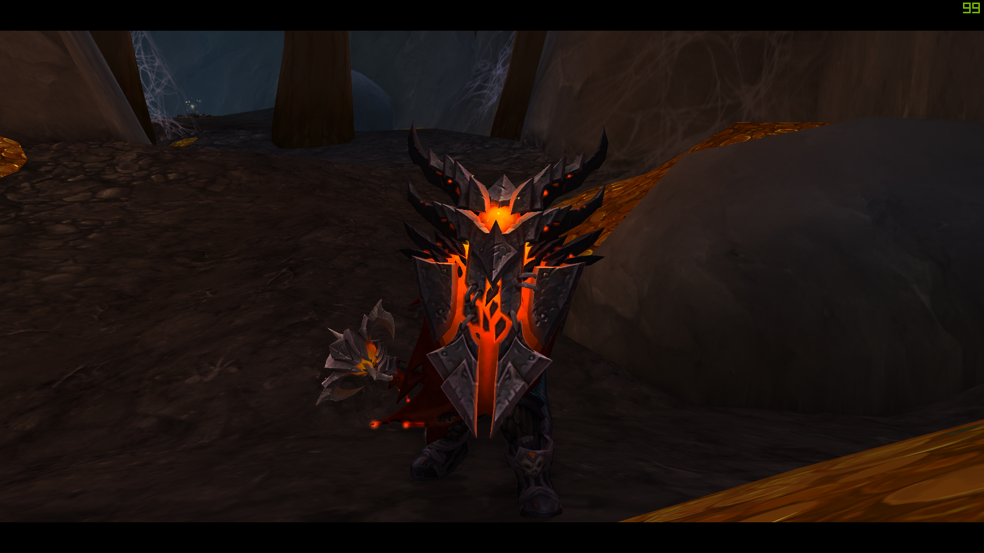 I walked into Neltharion's Vault for the prot  Warrior