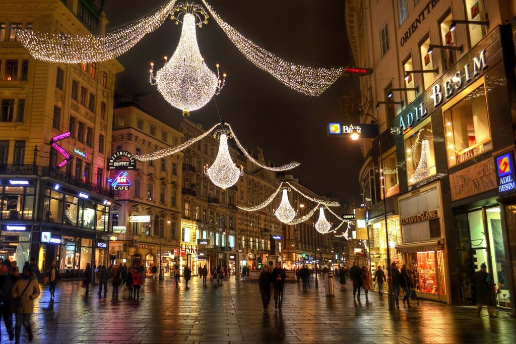 Vienna Christmas Shopping By Mike G. K.
