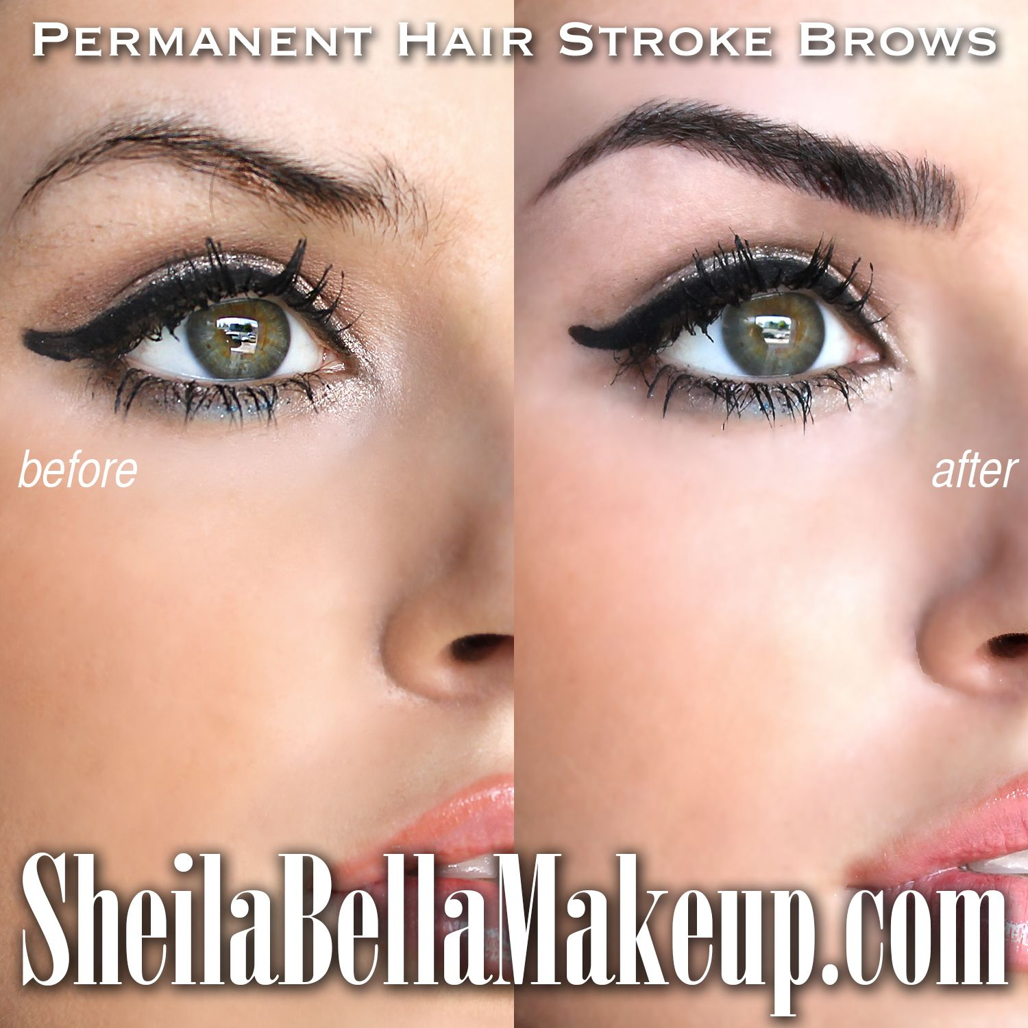 Have Fabulous Eyebrows Day And Night Go Anywhere With Confidence