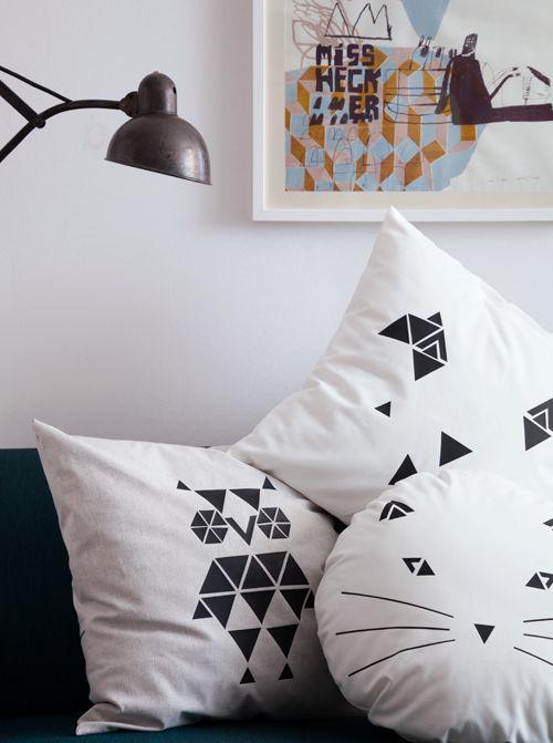 Andrea Von We Like Mondays Zeigt Heute, Wie Man Kissen Schick Bedruckt, Mit  Coolen Motiven. Für Einen Selbst Oder Auch Toll Als Geschenk. Home Design Ideas