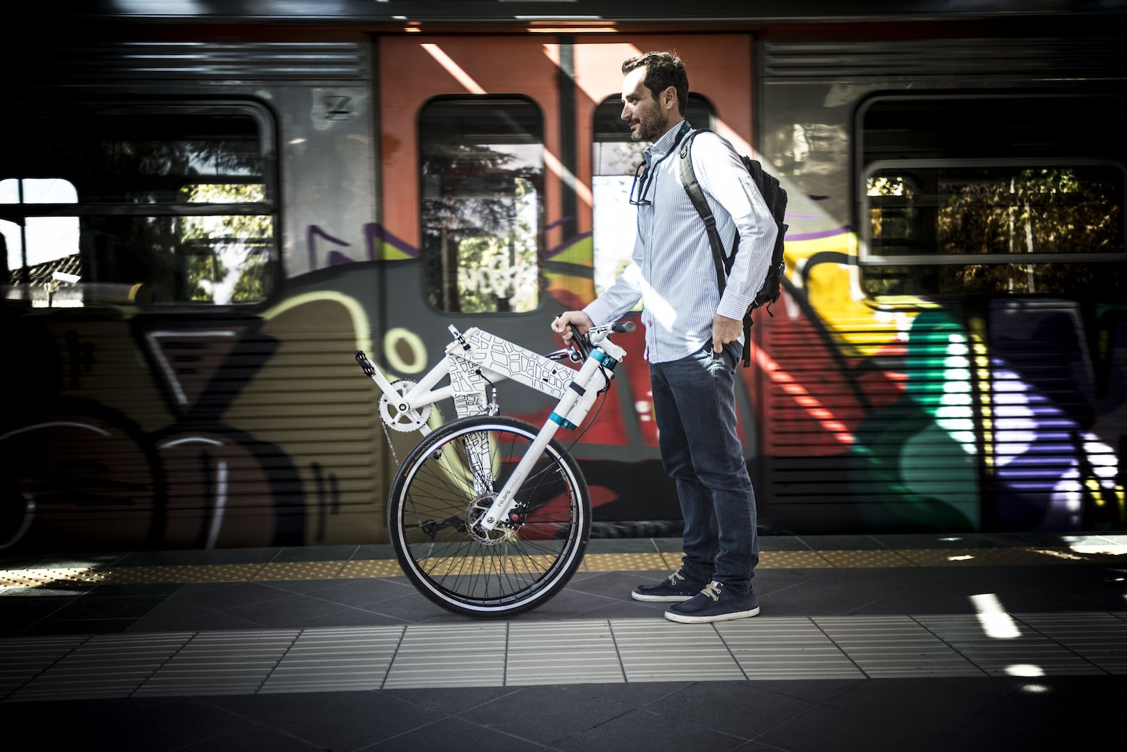 Fold up your bikes…and get personal