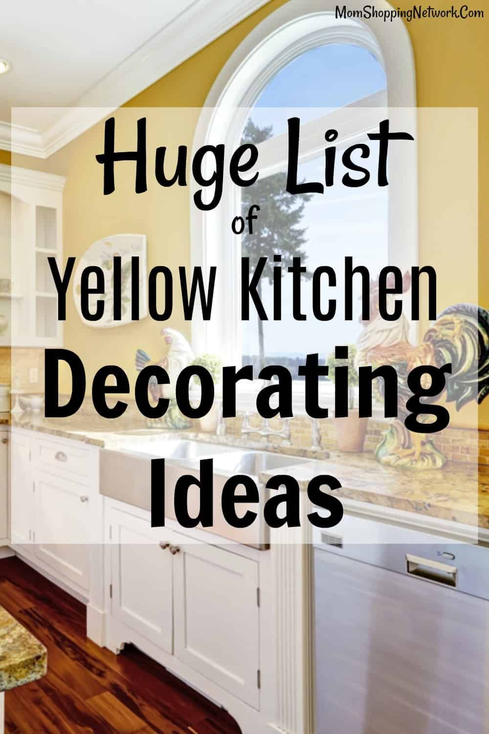 The Best Yellow Kitchen Decor You Need To See Yellow Kitchen