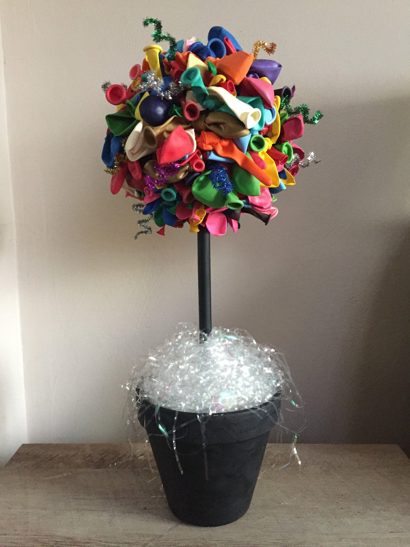 Birthday Balloon Topiary Centerpiece party centerpiece