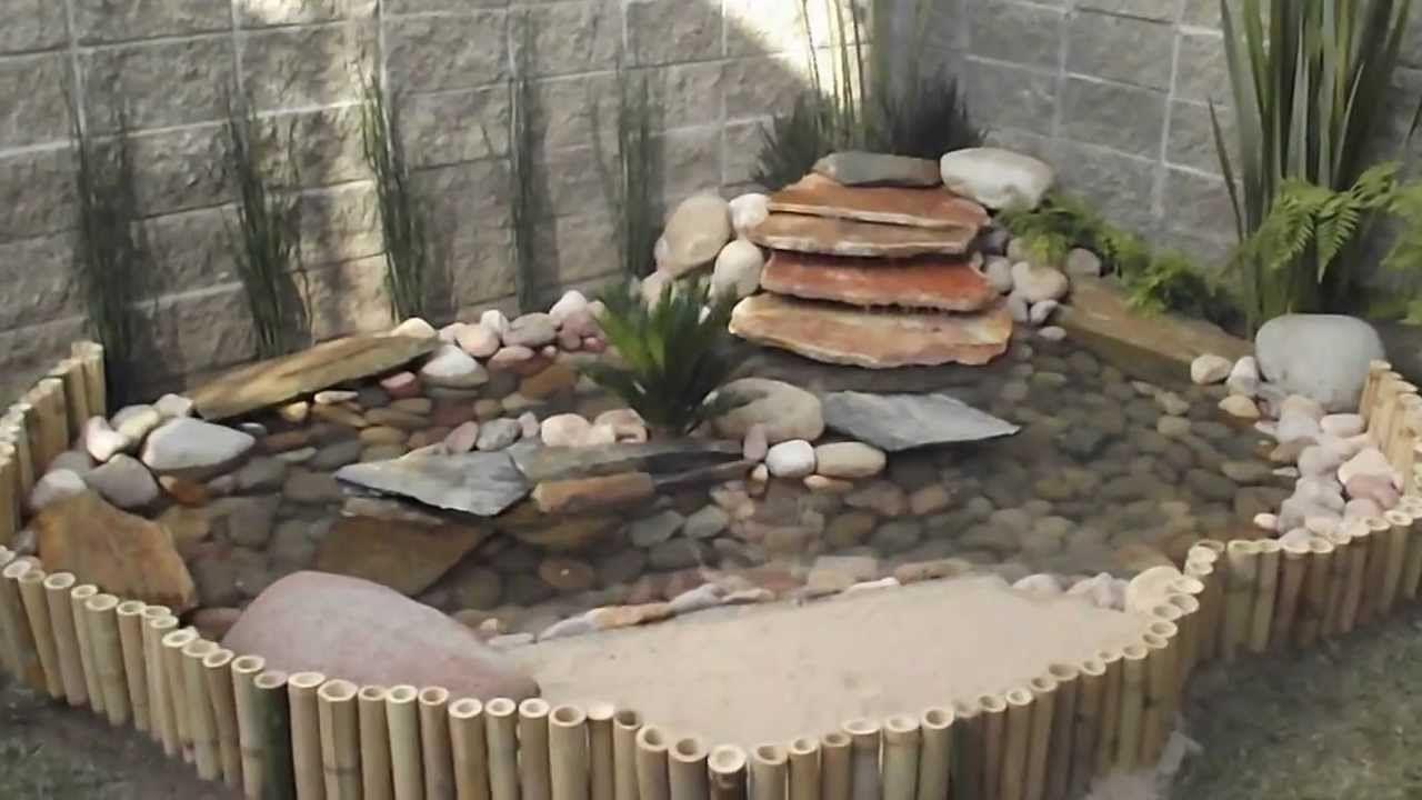 Estanque tortugas jardin buscar con google tortugas for Como hacer un estanque artificial