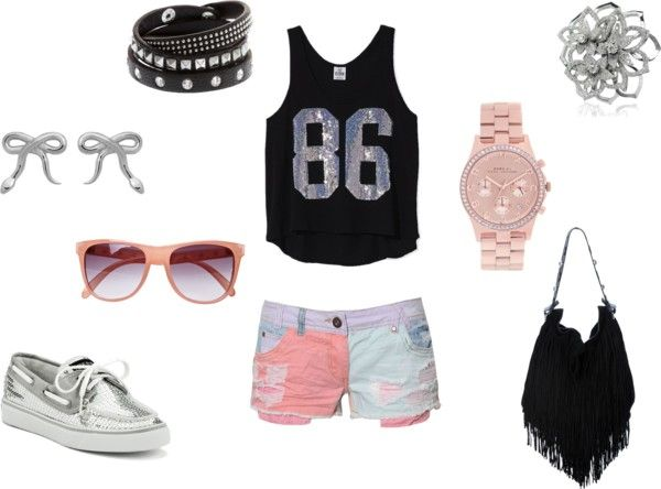 """""""PINK summer lovin'"""" by daveaux on Polyvore"""