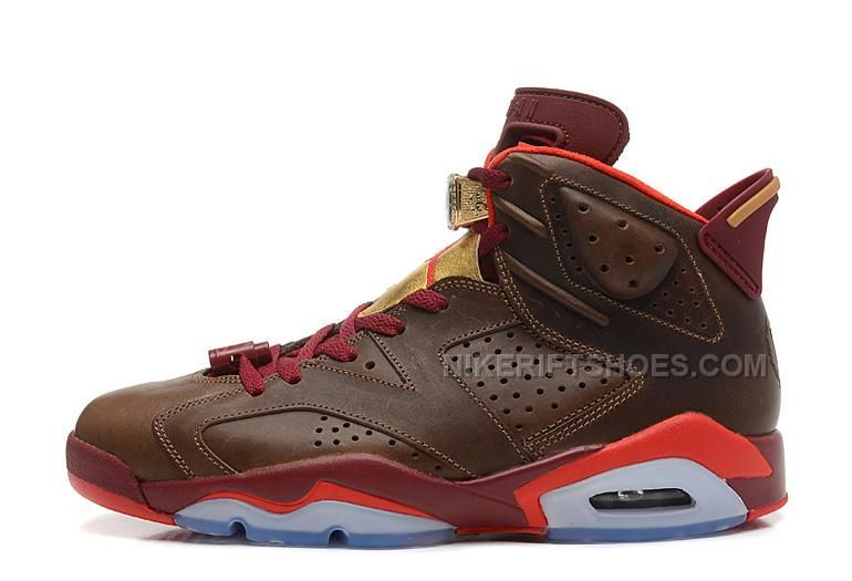 finest selection 26d9e 5a340 Authentic Air Jordan 6 Cigars Basketball Shoes 2014 Cheap Sale Air Jordan 6  Champagne Cigars Pack Runner Shoes For Men Retro 6 Cigars