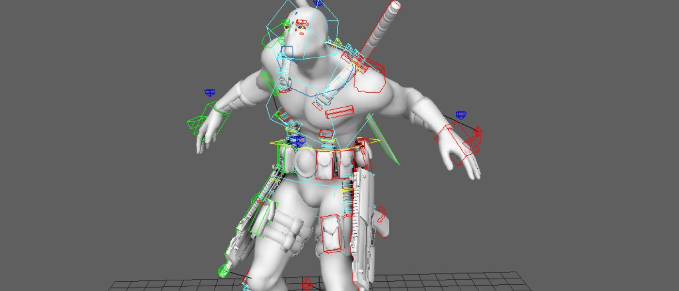 Download Free Rigged 3d Model | Rigs | Character rigging, 3d
