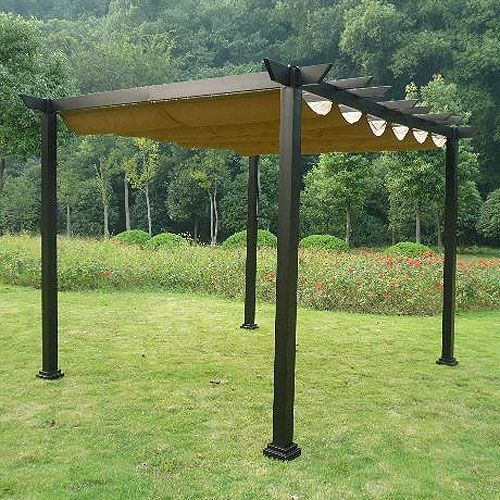 Menards 10 X 12 Pergola Replacement Canopy Pergola Garden
