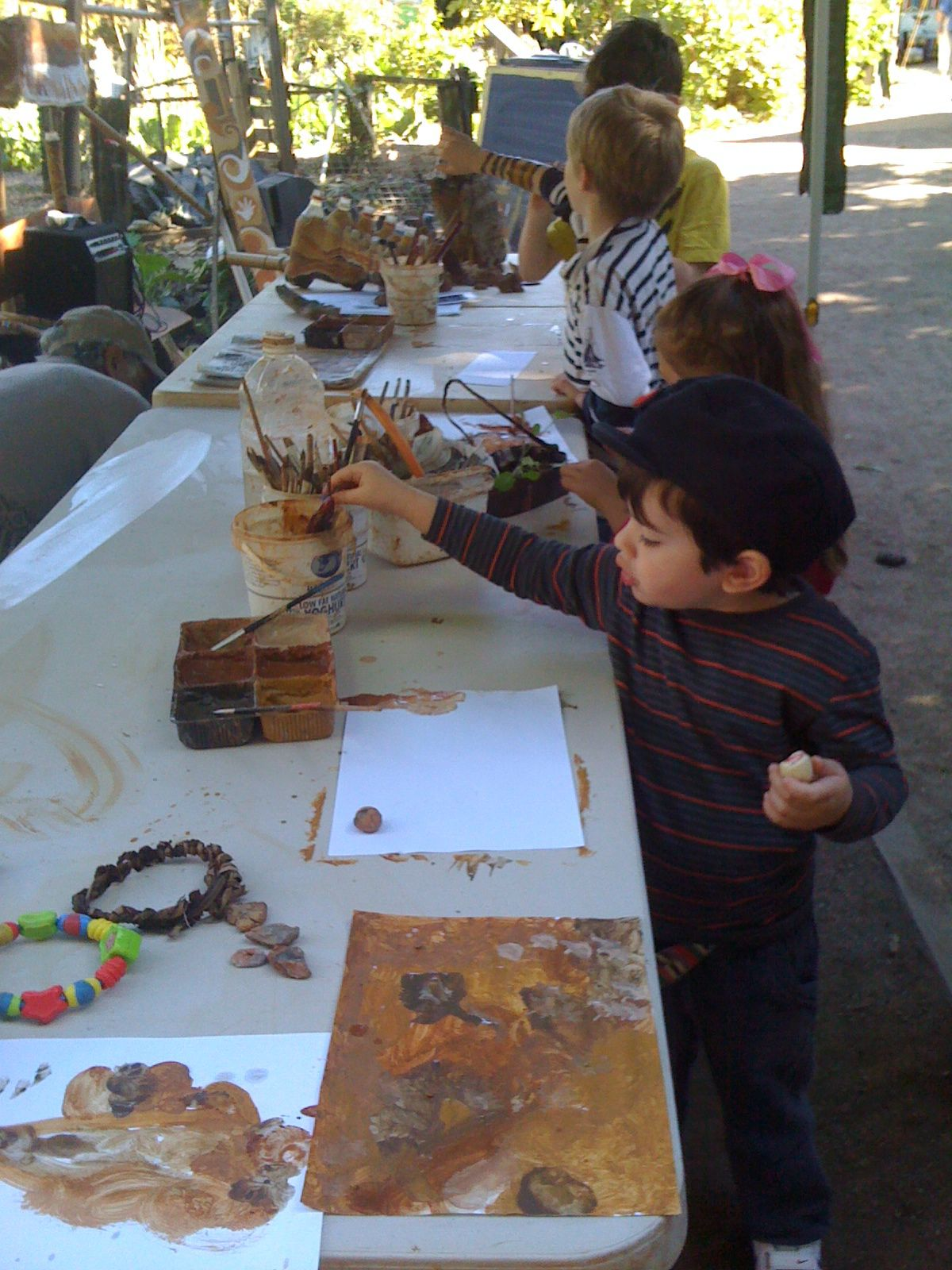 Painting With Mud