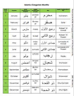 islamic and gregorian calendar 2016 pdf