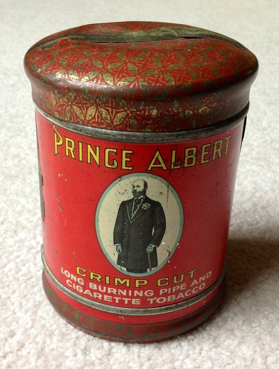 prince albert tobacco can value