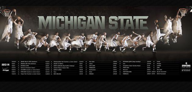 Michigan State Basketball 2013 14 Michigan State