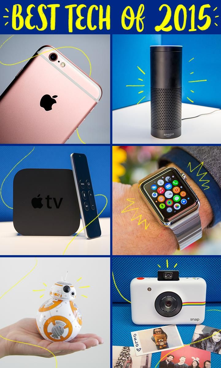 The Best Tech Of 2015 Gadgets Technology Awesome Latest Gadgets New Technology Gadgets