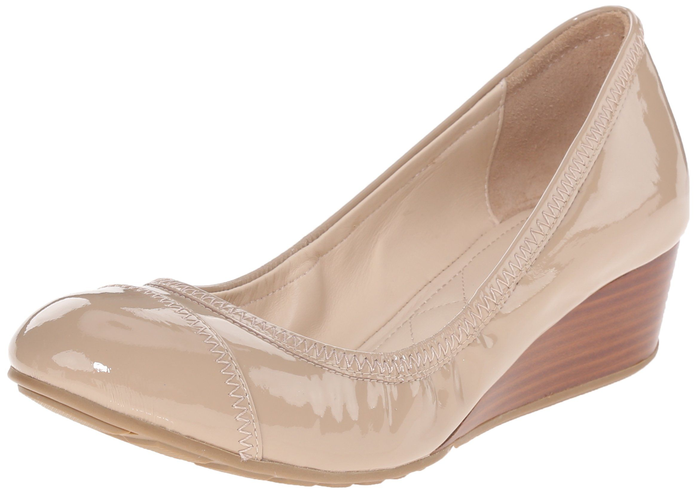Cole Haan Women's Tali Cap Toe 40 Wedge Pump