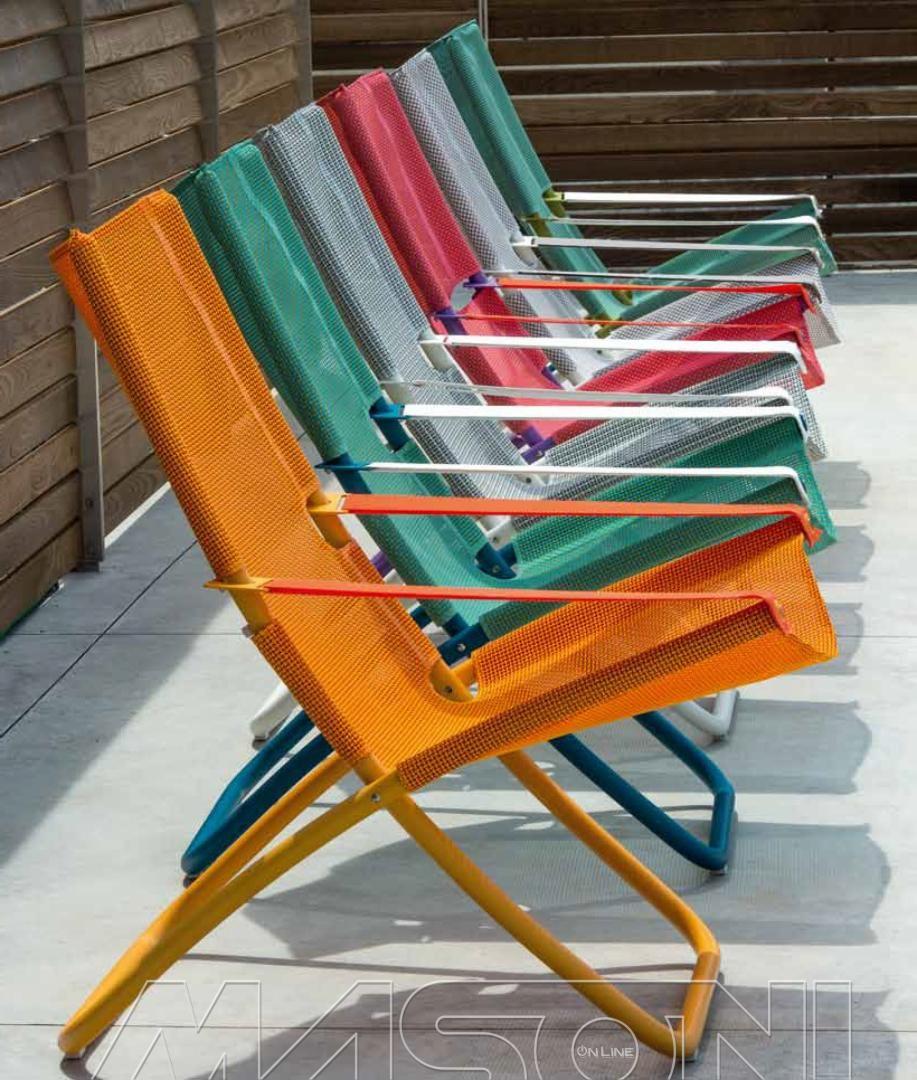 Poltrona Snooze Emu.Snooze Sdraio Flat Folding Furniture Outdoor Chairs