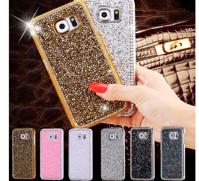 Bling Diamond Samsung Galaxy NOTE 5 Note4 Crystals Cases For Girls Valentines Day Gift