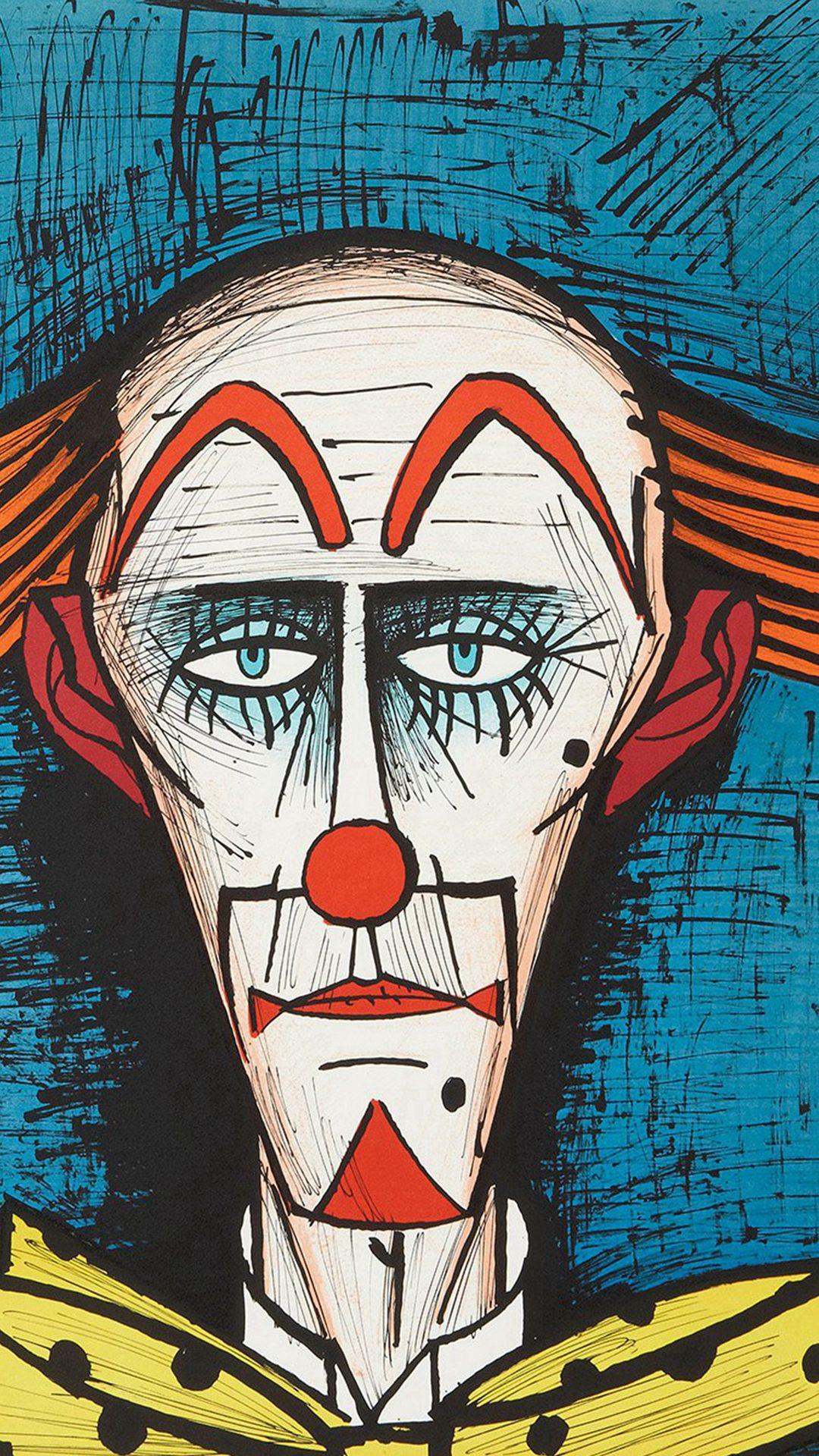 Bernard Buffet Classic Paint Art Illustration iPhone 8