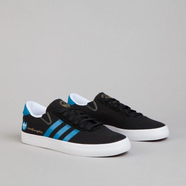 on sale 6c9ff 37432 Adidas Gonz Pro Black1  Solar Blue