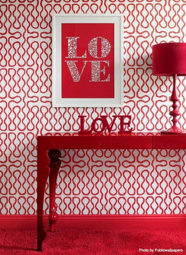 2020 How Much Does An Interior Designer Cost Interior Design Prices Red Decor Red Home Decor Red And White Wallpaper