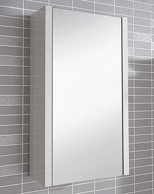 White Gloss Mirror Wall Cabinet J D Williams Mirror Wall Wall Cabinet White Gloss