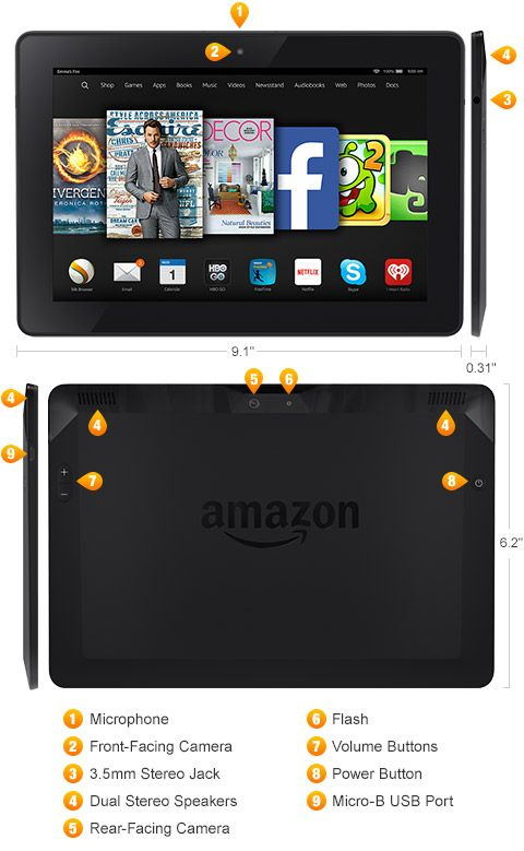 Fire Hdx 8 9 Amazon S Official Site Learn More Kindle Fire